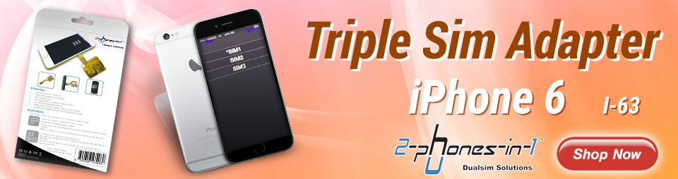 Triple sim adapter für iphone