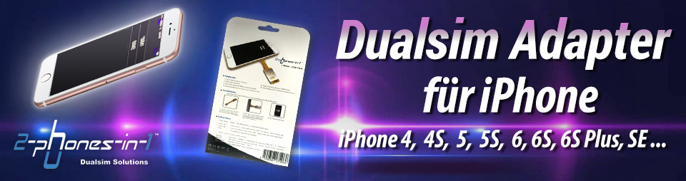 Dualsim adapter für iphone