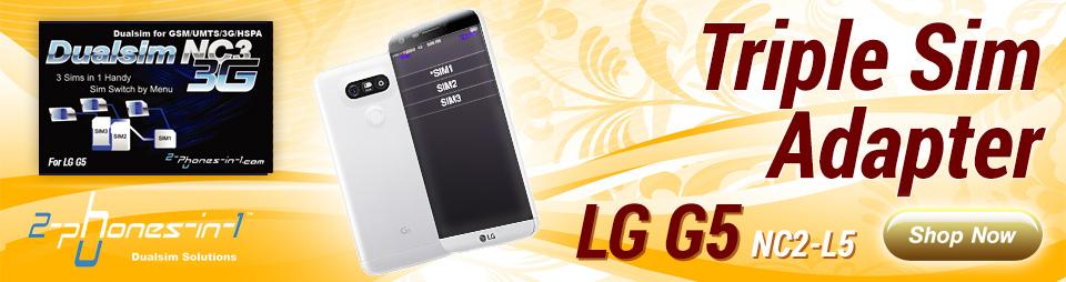 Dualsim adapter für LG